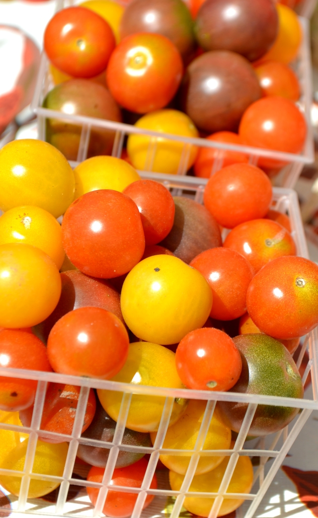 Organic Heirloom Cherry Tomatoes