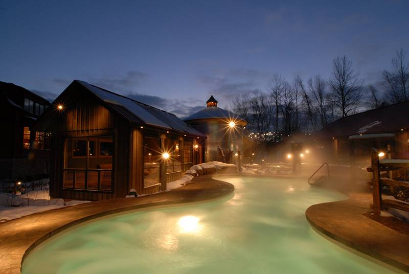 Serenity At The Scandinave Spa Blue Mountain On Local Lux