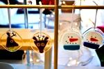 Christmas HandMade Market - gillybglass Ornaments