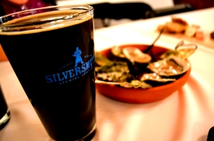 Silversmith and Tide & Vine - Stout and Oysters