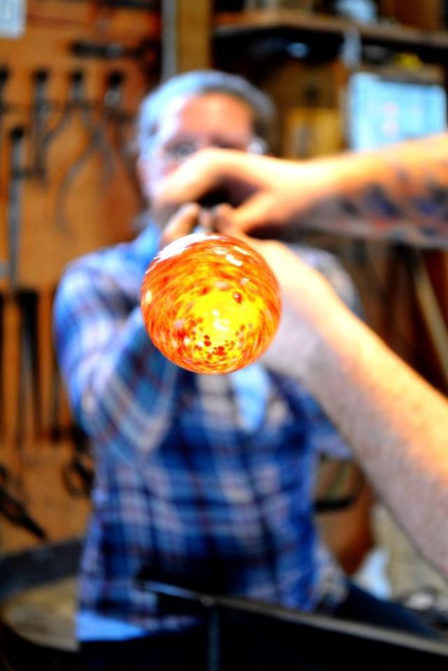 Artech Glass - Glass Blowing